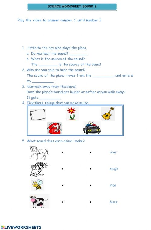 small resolution of Science worksheet Monday interactive worksheet