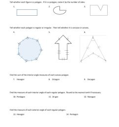 Polygons and Quadrilaterals worksheet [ 1291 x 1000 Pixel ]