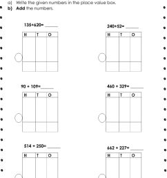 3-digit numbers addition worksheet [ 1332 x 1000 Pixel ]