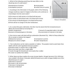 Solubility Practice worksheet [ 1291 x 1000 Pixel ]