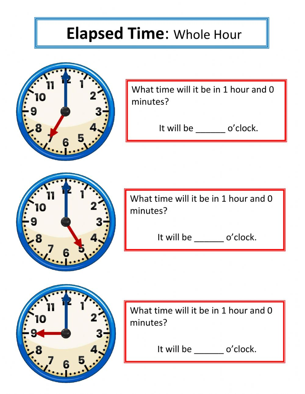 hight resolution of Telling Time zsciencez worksheet
