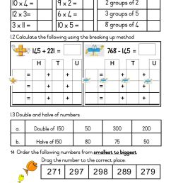 Grade 3 Mathematics Home Test 4 Term 2 Week 5 Friday. worksheet [ 1413 x 1000 Pixel ]