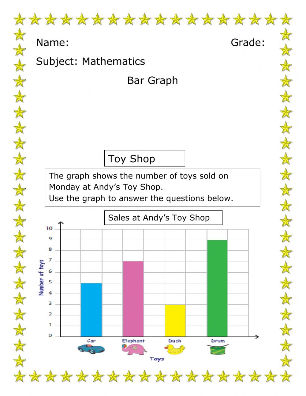 medium resolution of Bar Graph exercise for 1