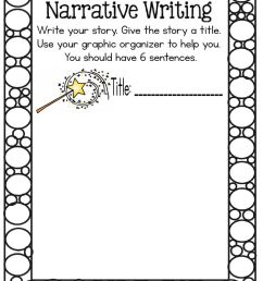 Narrative writing worksheet [ 1291 x 1000 Pixel ]