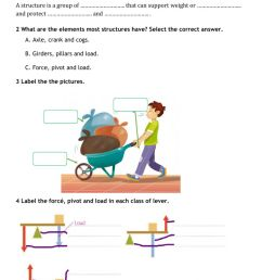 4º All about machines worksheet [ 1413 x 1000 Pixel ]