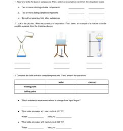 Natural Science 6th Grade ESL - Unit 7 Matter and Energy online worksheet [ 1291 x 1000 Pixel ]