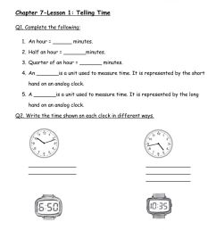 Telling Time Worksheet worksheet [ 1413 x 1000 Pixel ]