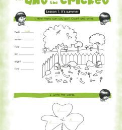 Activity Book for the 3rd Grade Unit 3 worksheet [ 1414 x 1000 Pixel ]
