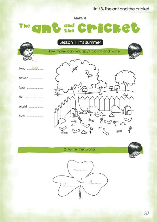small resolution of Activity Book for the 3rd Grade Unit 3 worksheet