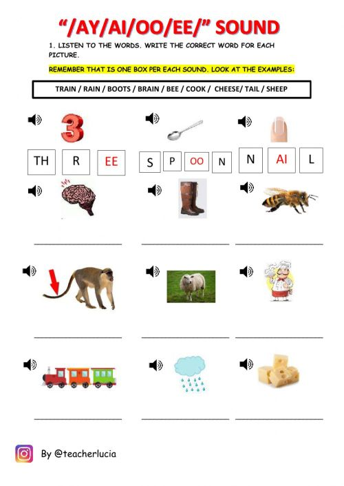 small resolution of Review phonics grade 1 worksheet