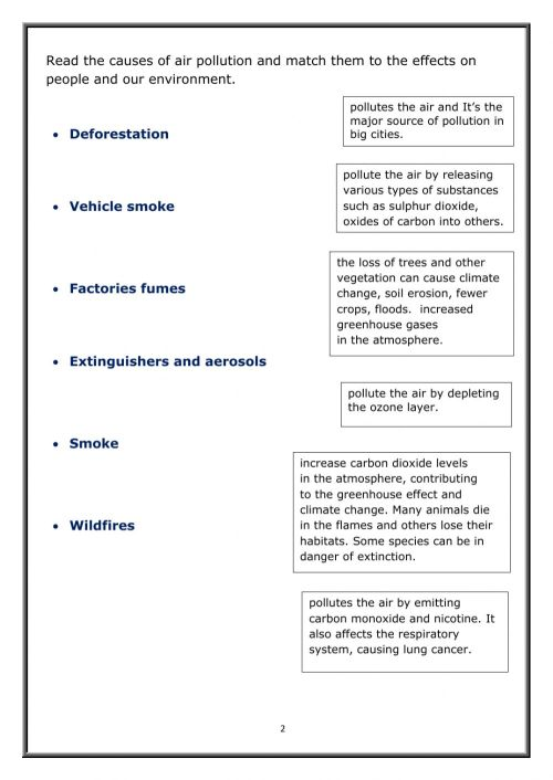 small resolution of Air pollution interactive worksheet