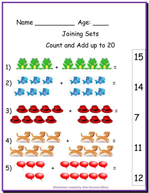 small resolution of Joining Sets interactive worksheet