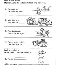 Drawing Conclusions interactive worksheet [ 1319 x 1000 Pixel ]