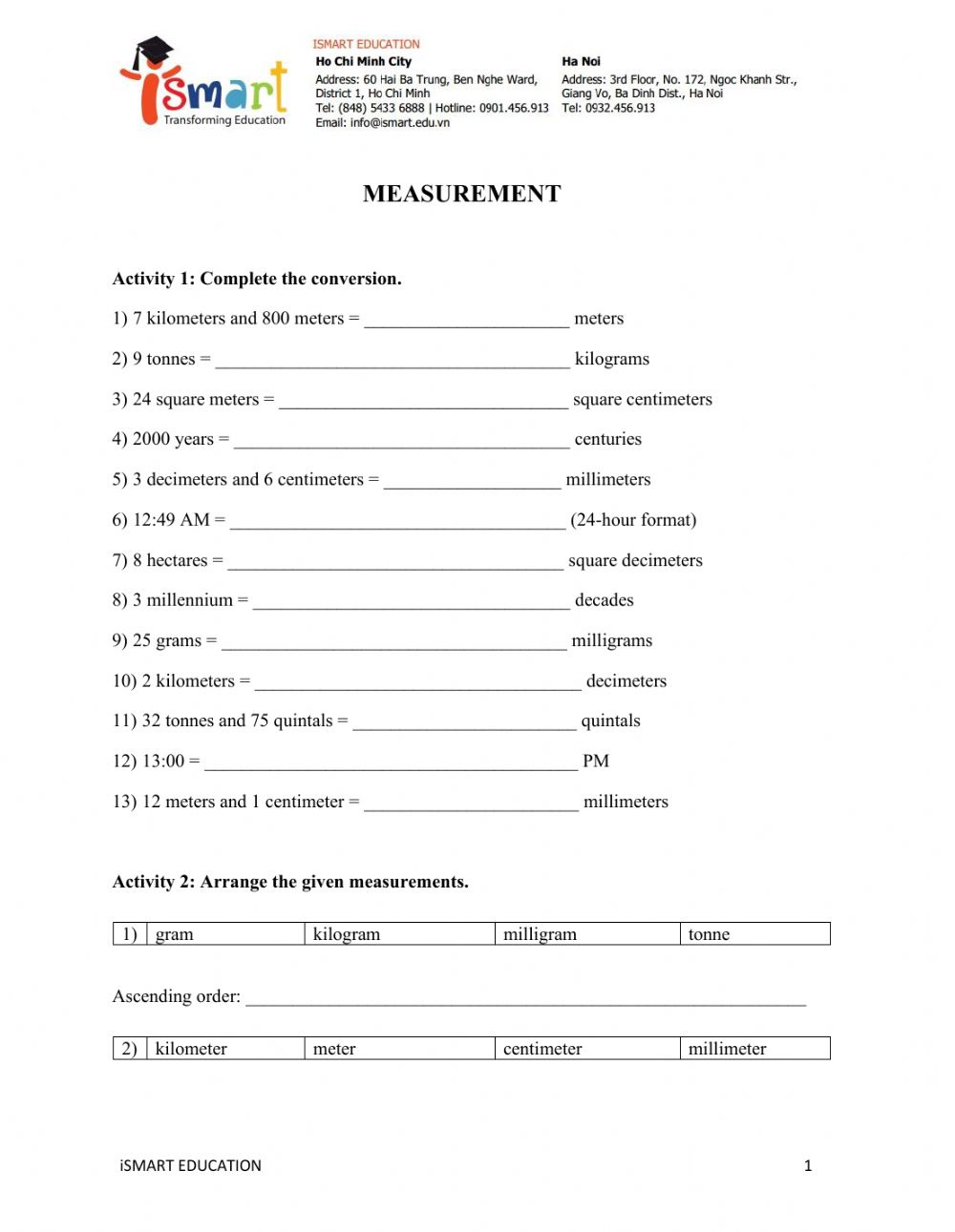 hight resolution of Math grade 5 interactive worksheet