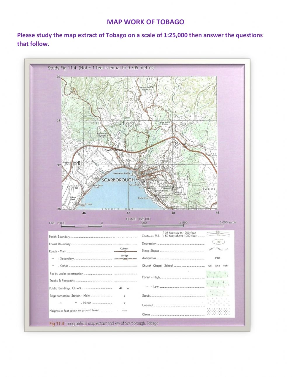 hight resolution of Map Exercise interactive worksheet