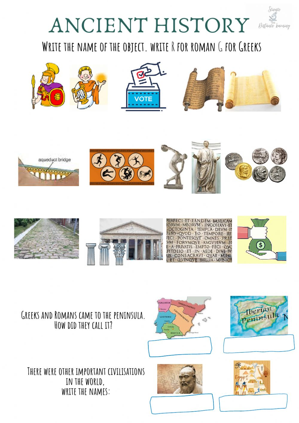 hight resolution of Ancient history online worksheet