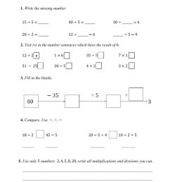 Practice on class: 5 as a divisor worksheet [ 1413 x 1000 Pixel ]