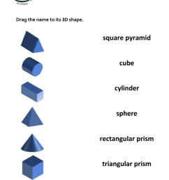 3d shapes and nets worksheet [ 1413 x 1000 Pixel ]
