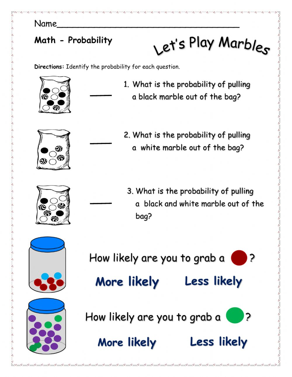 hight resolution of Probability