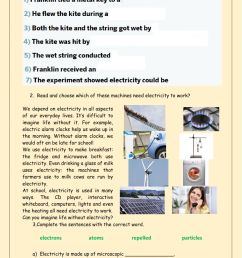 Electricity and inventions 1 worksheet [ 1413 x 1000 Pixel ]