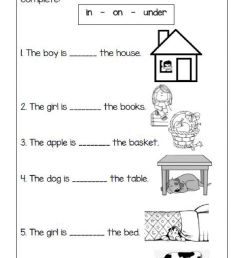 Prepositions interactive worksheet for 1st grade [ 1413 x 1000 Pixel ]