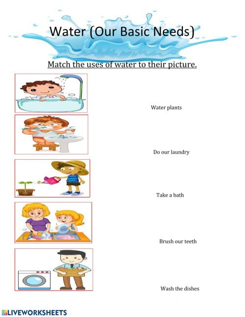 small resolution of Water exercise for Grade 3