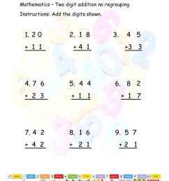 Two Digit Addition with no regrouping worksheet [ 1291 x 1000 Pixel ]