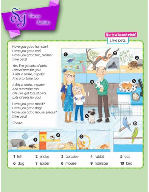 small resolution of Animals online exercise for 1st grade