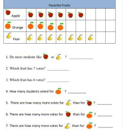 Picture Graph interactive worksheet [ 1354 x 1000 Pixel ]