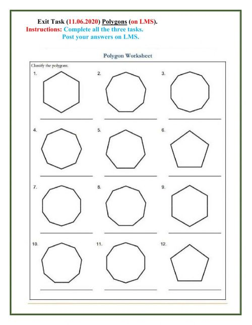 small resolution of Polygon interactive worksheet