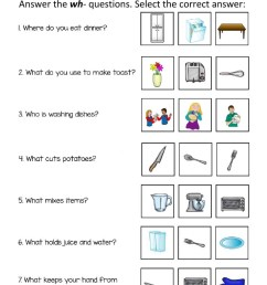 Answer the wh-Questions worksheet [ 1291 x 1000 Pixel ]