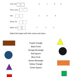 Shapes interactive exercise for 2nd Grade [ 1291 x 1000 Pixel ]