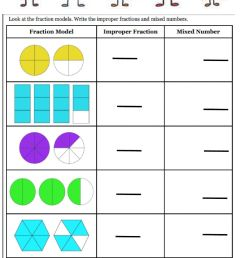 Fractions interactive exercise for Grade 3 [ 1543 x 1000 Pixel ]