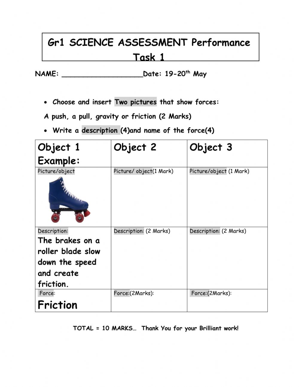 hight resolution of Forces interactive worksheet for 1