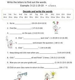 Decoding-how to do a quiz on moodle worksheet [ 1413 x 1000 Pixel ]