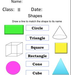 Shapes interactive exercise for Grade 2 [ 1324 x 1000 Pixel ]