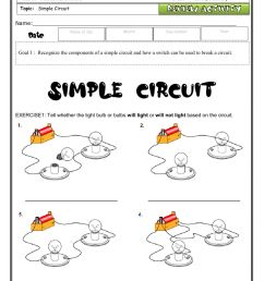 Review circuits-vocabulary-simple circuits worksheet [ 1524 x 1000 Pixel ]