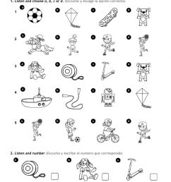 1st Grade Unit 3 - Toys and activities worksheet [ 1570 x 1000 Pixel ]