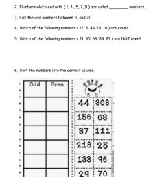 Odd and Even Numbers interactive worksheet [ 1643 x 1000 Pixel ]