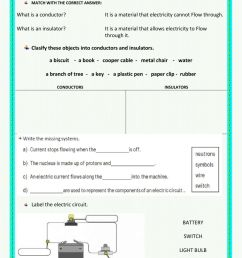 Electricity and inventions test worksheet [ 1413 x 1000 Pixel ]
