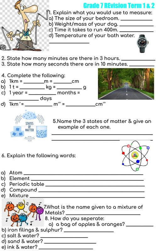 small resolution of Revision term 1 \u0026 2 interactive worksheet