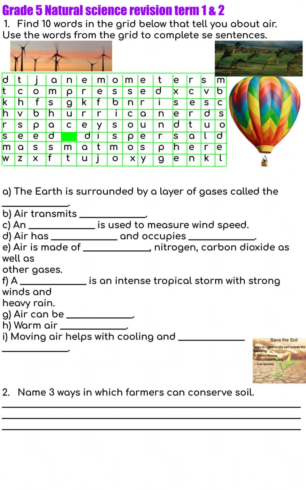 hight resolution of Grade 5 revision term 1 \u0026 2 exercise
