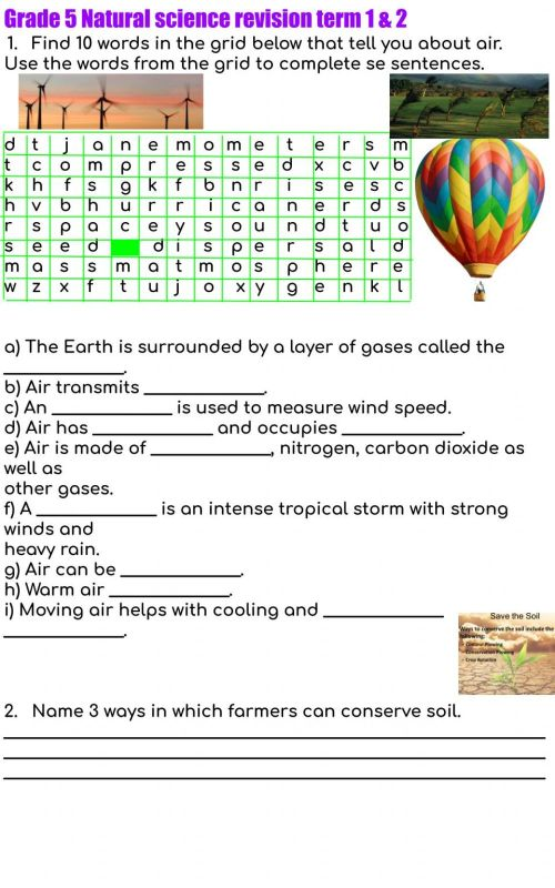 small resolution of Grade 5 revision term 1 \u0026 2 exercise