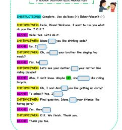 Auxiliary Verbs: DO-DOES worksheet [ 1291 x 1000 Pixel ]