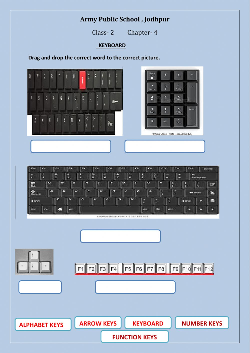 hight resolution of Keyboard activity