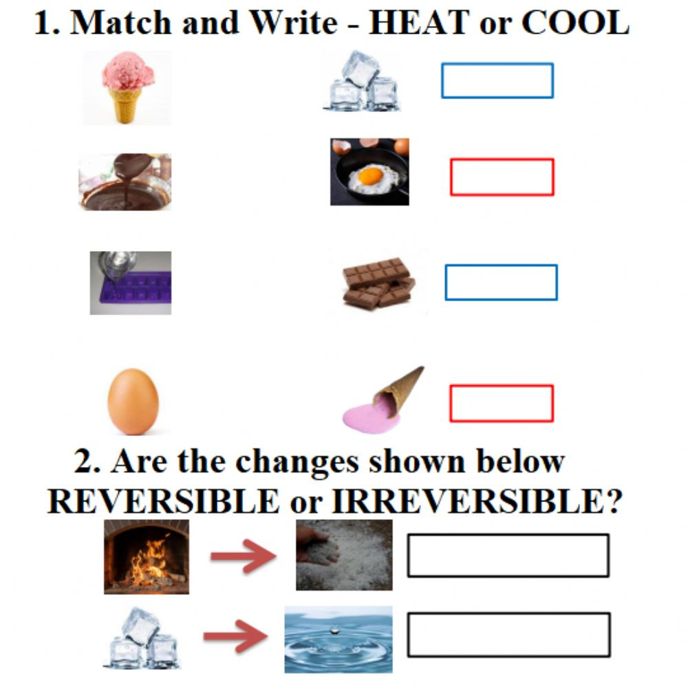 hight resolution of Heating and cooling interactive worksheet