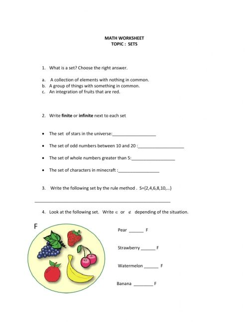 small resolution of SETS 6th grade worksheet