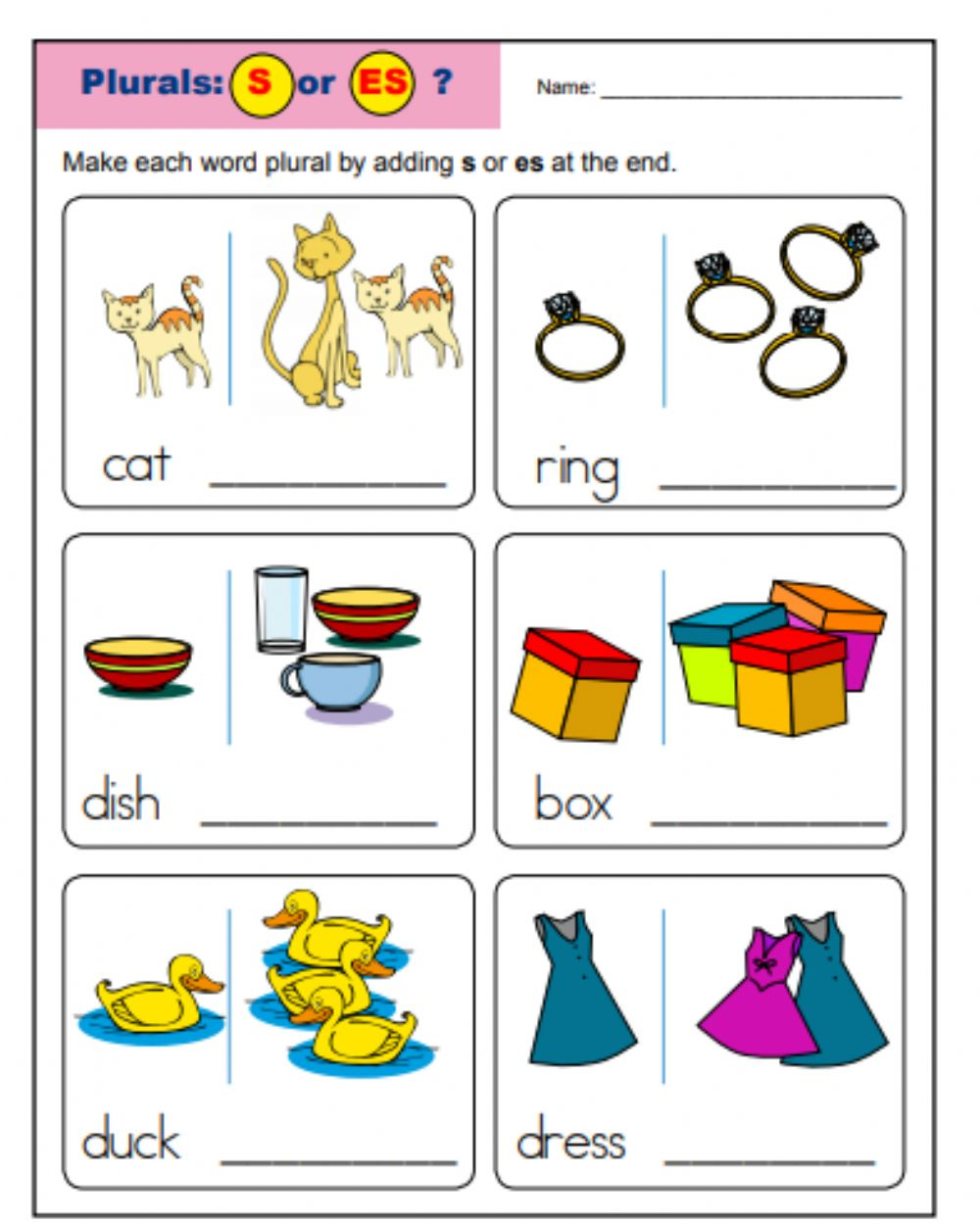 hight resolution of plural interactive activity for Grade 1