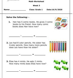 Math live worksheet add and subtract Wed 16 Sep 2020 interactive worksheet [ 1291 x 1000 Pixel ]