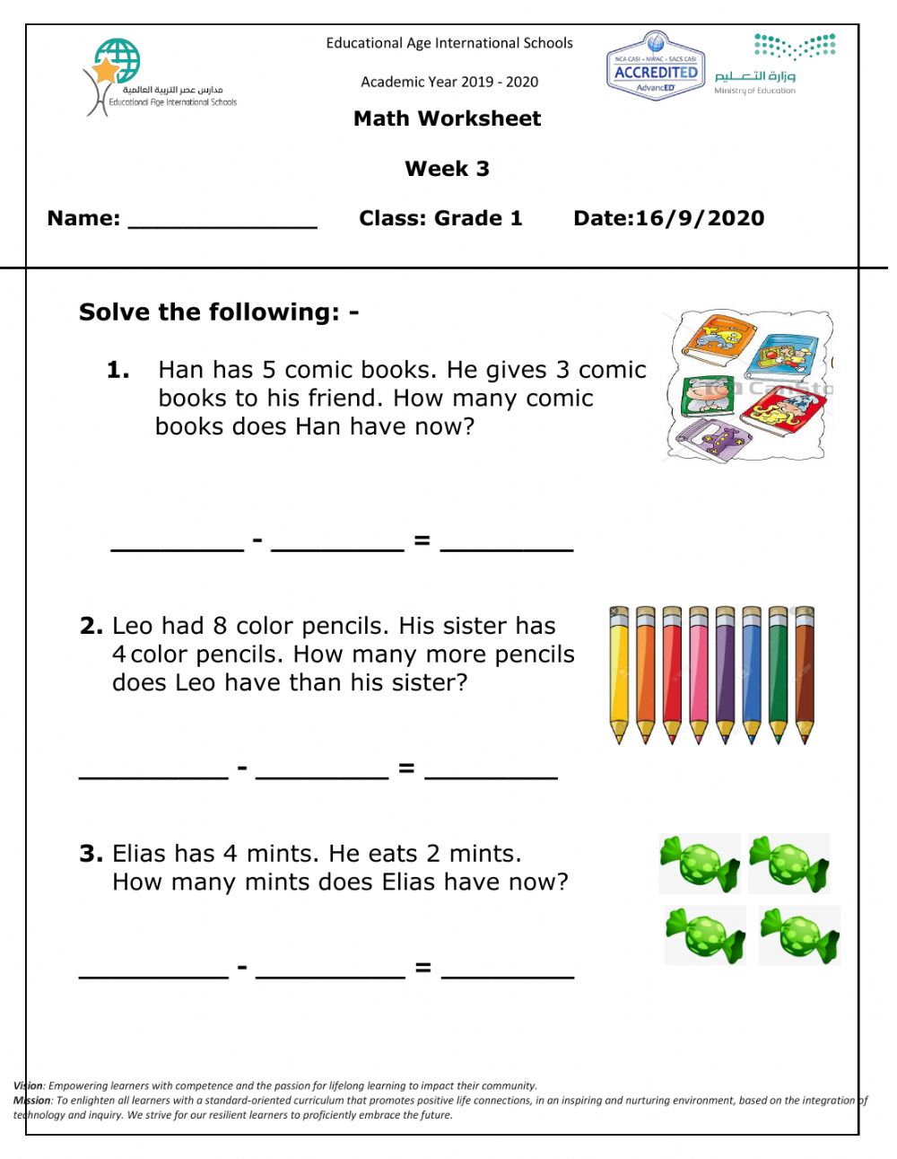medium resolution of Math live worksheet add and subtract Wed 16 Sep 2020 interactive worksheet